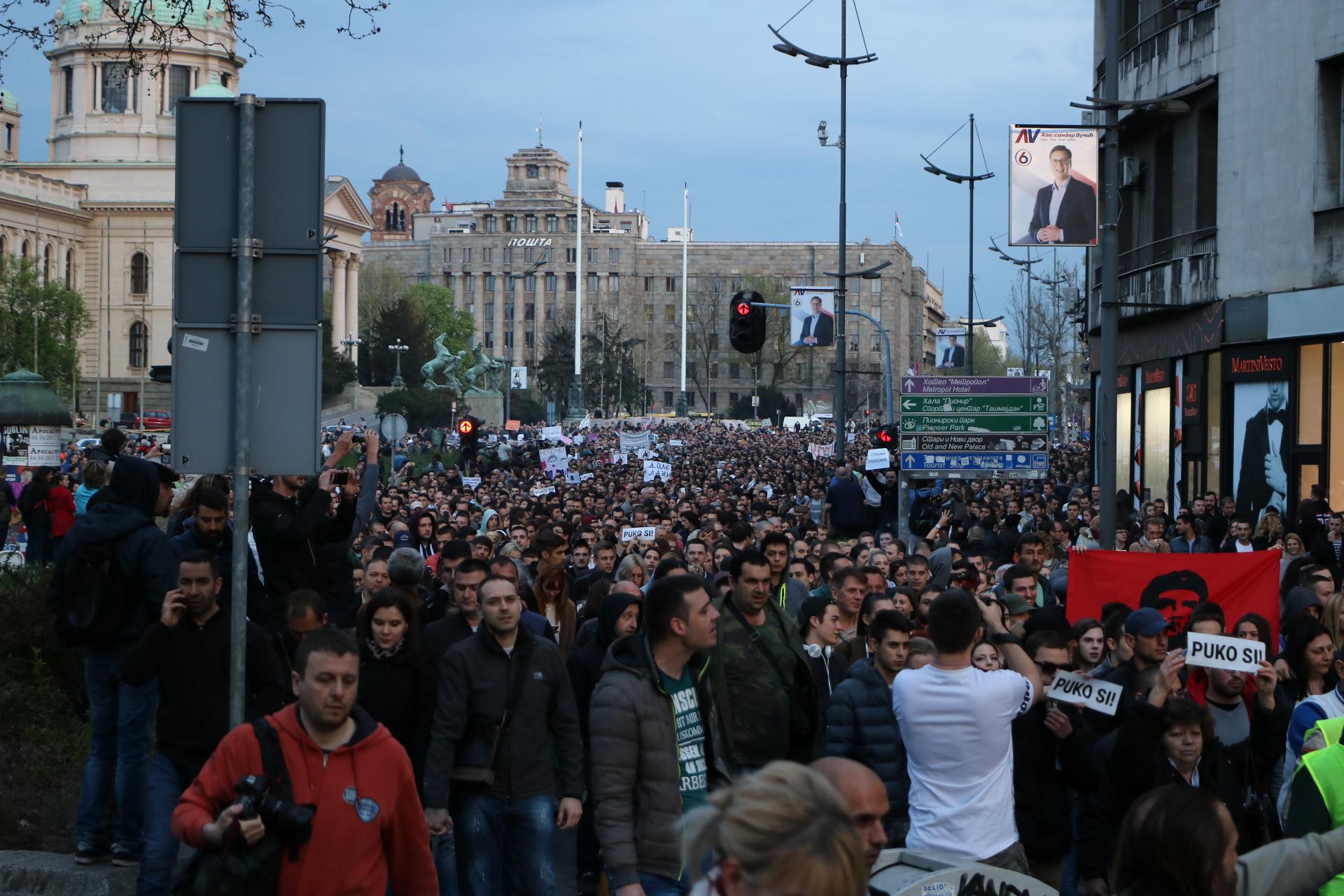"""Vladimir Simović: Protesti protiv """"diktature"""""""
