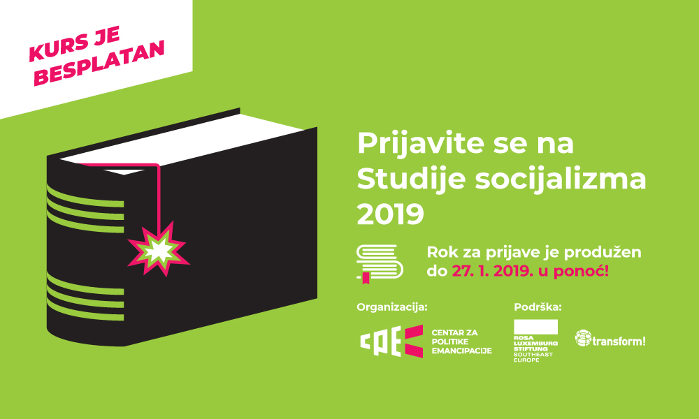 Produžen rok za prijave za Studije socijalizma – prijavite se do 27. januara
