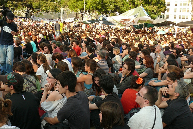 Protest indignadosa 21. maj 2011, Barselona