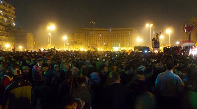 Protest protiv vojne uprave 23. novembar 2011, Kairo