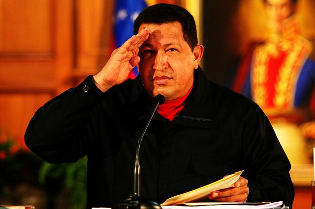 Hugo Čavez, predsednik Venecuele
