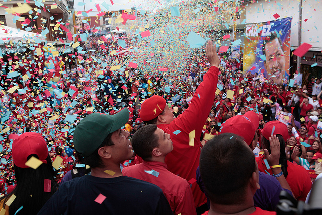 Kampanja za predsedničke izbore u Venecueli