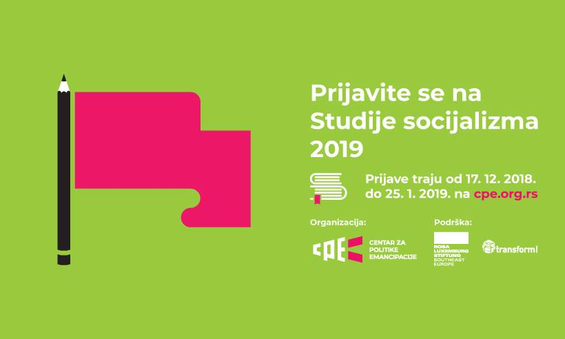 Prijava za Studije socijalizma 2019