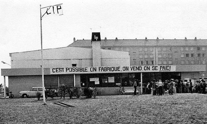 LIP fabrika, štrajk