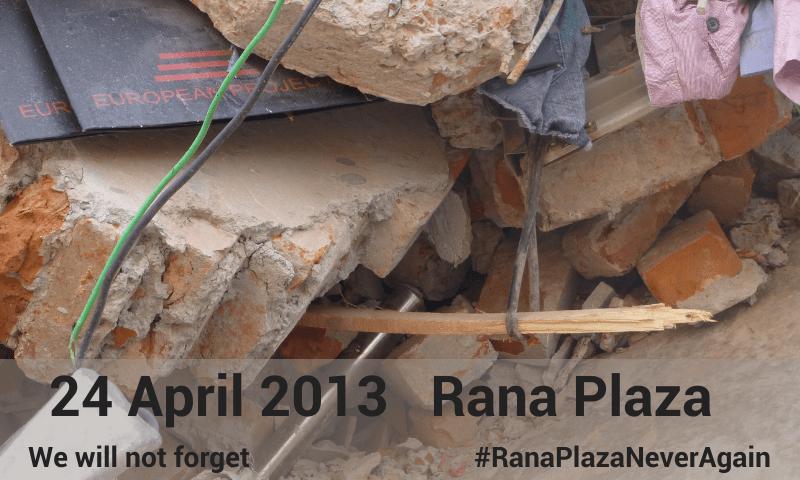 Sećamo se radnika i radnica Rana Plaze i nastavljamo borbu i u vreme pandemije