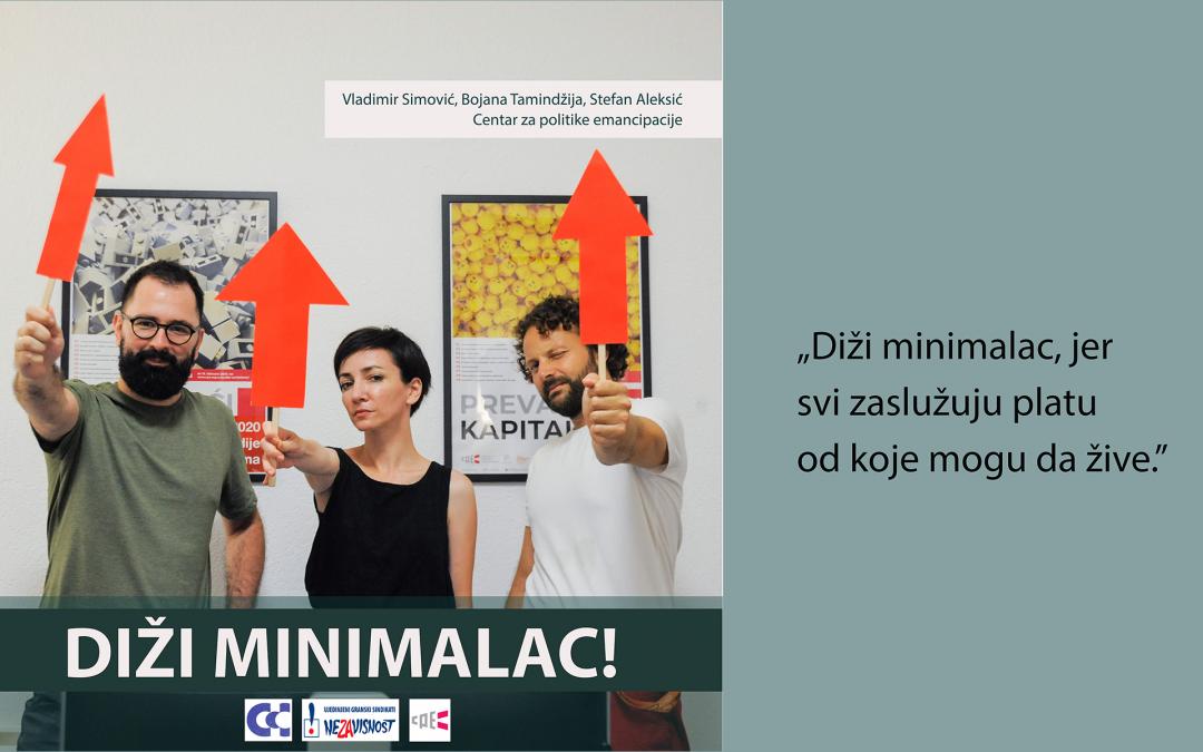 Pismo predsednici Vlade Ani Brnabić u vezi sa predstojećim pregovorima o visini minimalne zarade